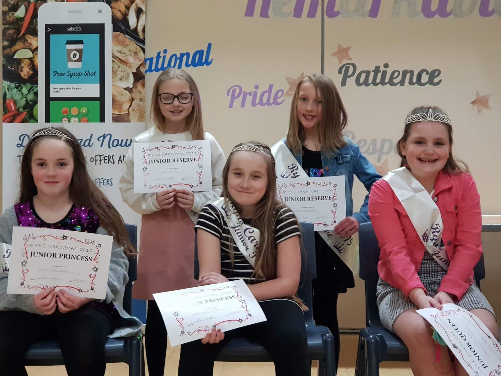 Junior Queens Team Royalty